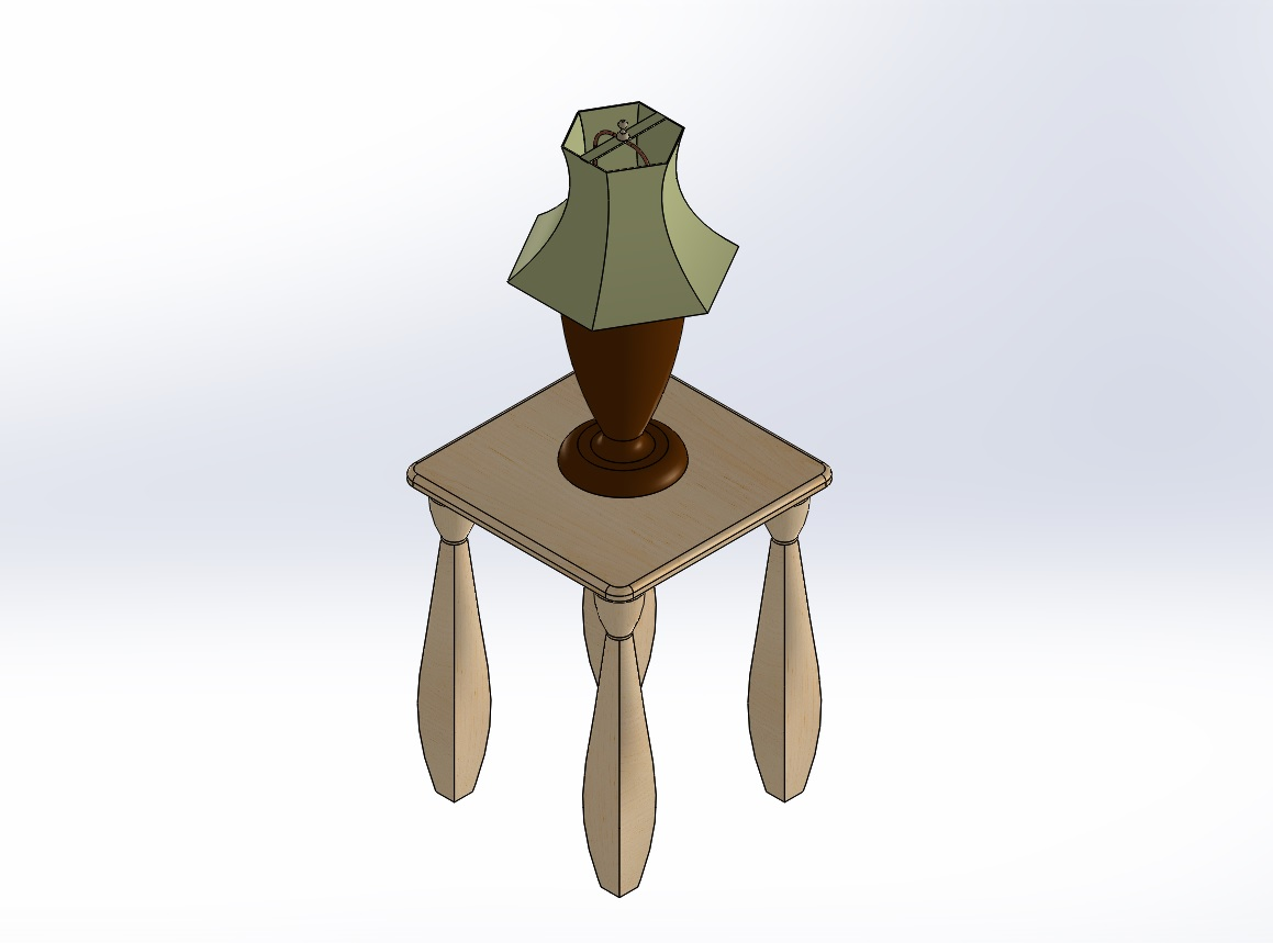 Solidworks lamp on table geotapseo Image collections